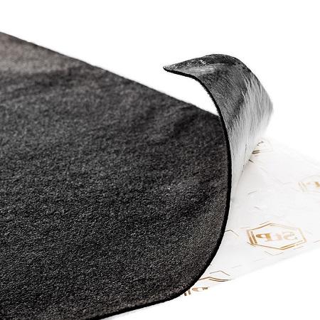 StP Карпет самоклеющийся автомобильный лист «Серый» 1,0 х 1,5 | фото 1