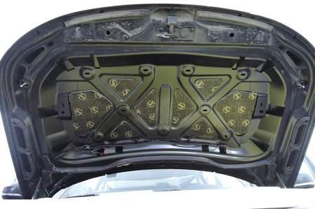 StP Набор шумоизоляции на капот «Оптимальный» | фото 1