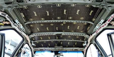 StP Набор шумоизоляции для потолка «Бюджетный» | фото 1