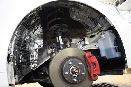 StP Набор шумоизоляции арок автомобиля «Бюджетный» | фото 1