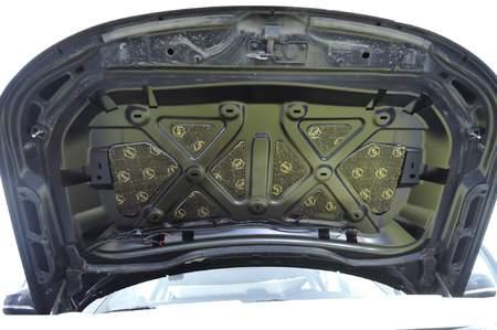 StP Набор шумоизоляции на капот «Премиум» | фото 1